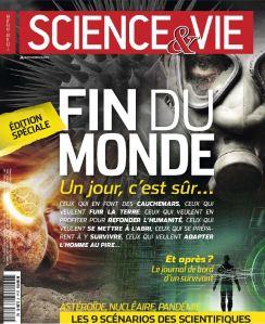 Couverture Science et vie Hors série spécial : fin du monde